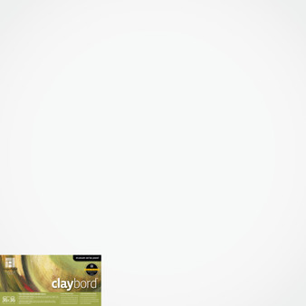 "Ampersand Panel Claybord Smooth Cradled 2"" 36X36"