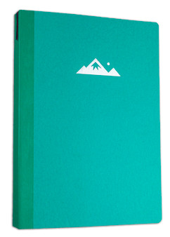 Itoya ProFolio Oasis Summit Notebook Dark Turquoise