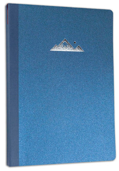 Itoya ProFolio Oasis Summit Notebook Metallic Blue