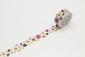 MT Washi Tape Pressed Flower