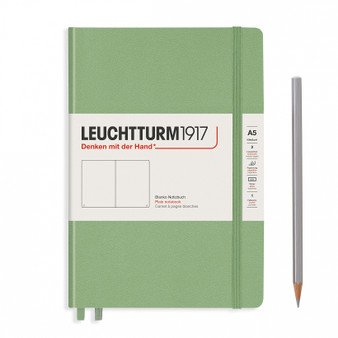 Leuchtturm 1917 Muted Color Medium Hardcover Blank Notebook Sage
