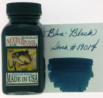 Noodler's Fountain Pen Ink 3oz Blue Black