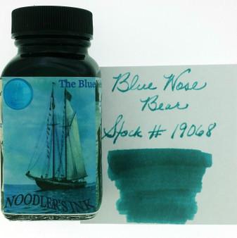 Noodler's Fountain Pen Ink 3oz Blue Nosed Bear
