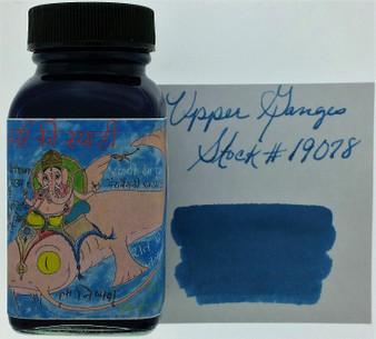 Noodler's Fountain Pen Ink 3oz Upper Ganges Blue