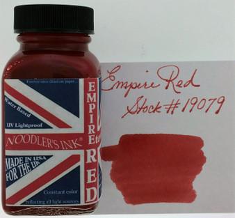 Noodler's Fountain Pen Ink 3oz Empire Red