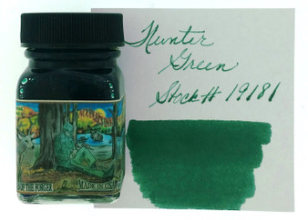 Noodler's Fountain Pen Ink 1oz Hunter Green Eternal