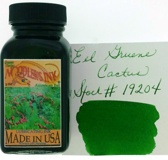 Noodler's Fountain Pen Ink 3oz Eel Gruene Cactus
