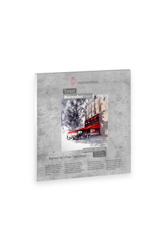 Hahnemuhle Toned Watercolor Pad 200gsm 20X20cm 20 Sheet Grey
