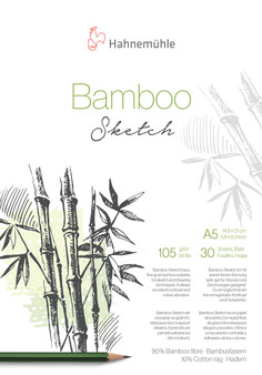 Hahnemuhle Natural Line Bamboo Sketch Pad A5 30 Sheets