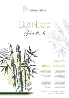 Hahnemuhle Natural Line Bamboo Sketch Pad A4 30 Sheets