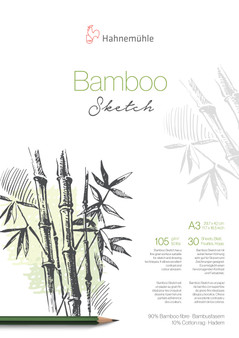 Hahnemuhle Natural Line Bamboo Sketch Pad A3 30 Sheets