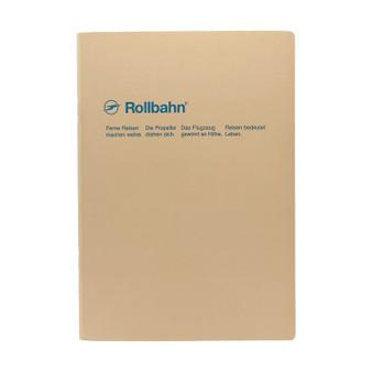 Rollbahn 'Note' Notebooks 8X10 Stapled Journal Greige