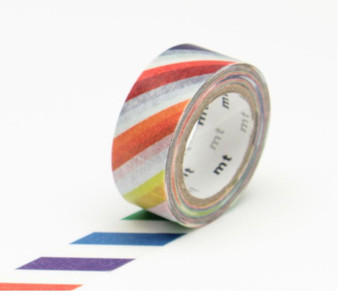 MT Washi Tape Colorful Stripe