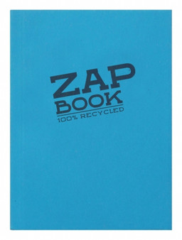 Clairefontaine Zap Book A6 160 Sheet Pad - Assorted Colors