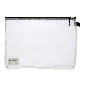 Art Alternatives Mesh Bag with Zipper 12X16 White