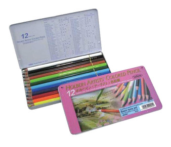 Holbein Colored Pencil Set 12 Basic