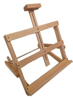 "HJ ""Ernie"" Wide Adjustable Tabletop Wood Easel"