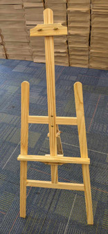 "HJ ""BB"" A-Frame Display Wooden Easel"