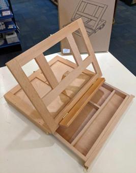"HJ ""Oscar"" Wooden Tabletop Box Easel"
