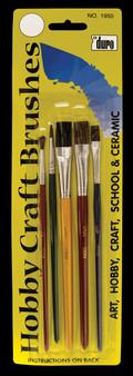Hobby Craft Brush Set 5 Pack