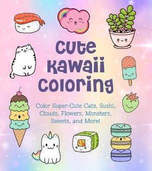 Cute Kawaii Coloring Book