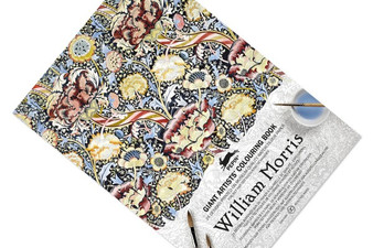 Pepin Giant Artists' Colouring Book William Morris