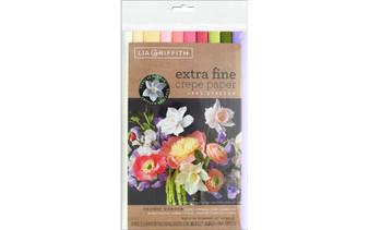 Werola Lia Griffith Crepe Paper Extra Fine Secret Garden 10 Pack