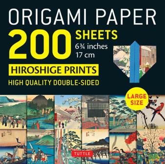 "Origami Paper 200 Sheets Hiroshige Prints 6 3/4"""
