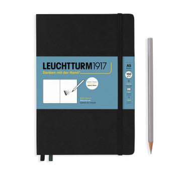 Leuchtturm 1917 Sketchbook Medium (A5) Black