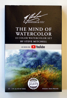 Steve Mitchell Watercolor Set by M. Graham