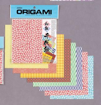 "Aitoh Origami Kimono & Folk Art 20 Sheets 5 7/8"""