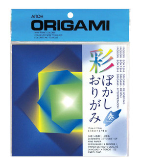 "Aitoh Origami Iro Bokashi 5 7/8"" Rendering"