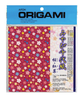 "Aitoh Origami Blossom & Maple 5 7/8"""