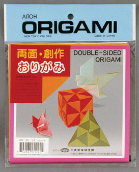 """Aitoh Origami 2-Sided Color 36 Sheets 5 7/8"""""""