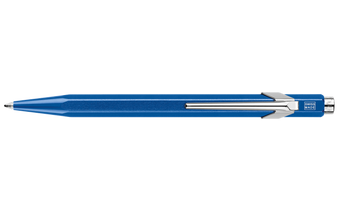 Caran d'Ache 849 Ballpoint Pen Metallic Blue w/ Box