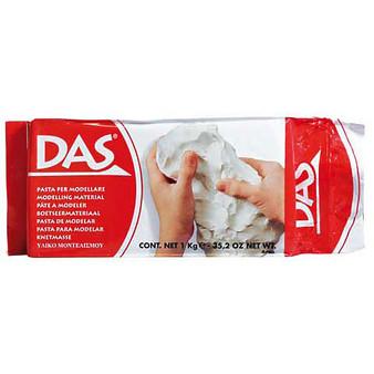Das Air Hardening Clay White 1.1lb
