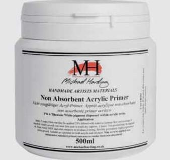 Michael Harding Non-Absorbent Acrylic Primer 500ml