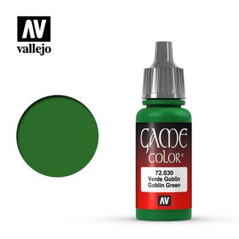 Vallejo Game Color Acrylic 17ml Goblin Green