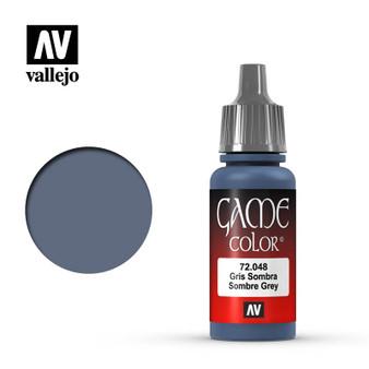 Vallejo Game Color Acrylic 17ml Sombre Grey