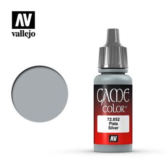 Vallejo Game Color Acrylic 17ml Silver