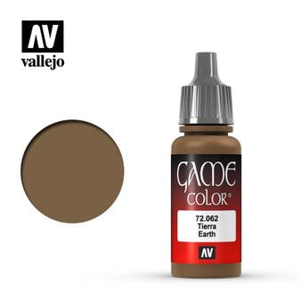 Vallejo Game Color Acrylic 17ml Earth