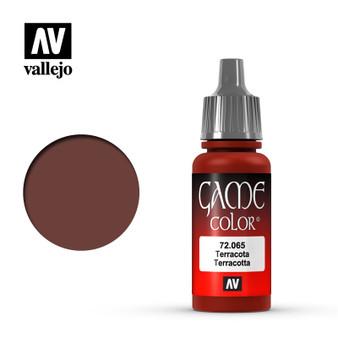 Vallejo Game Color Acrylic 17ml Terracotta