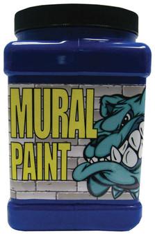 Chroma Mural Paint Half Gallon Ice Blue