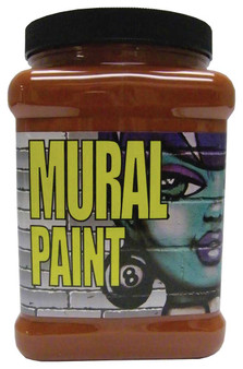 Chroma Mural Paint Half Gallon Dirt Burnt Sienna