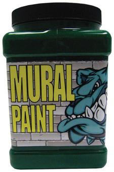 Chroma Mural Paint Half Gallon Go Green