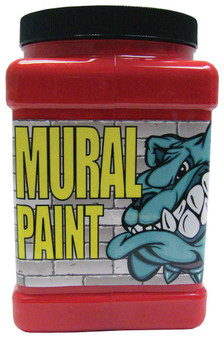 Chroma Mural Paint Half Gallon Stop Red