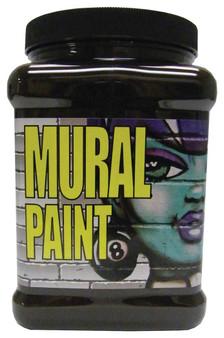 Chroma Mural Paint Half Gallon Mud Raw Umber