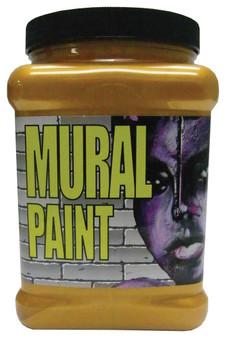 Chroma Mural Paint Half Gallon Glam Rock Gold