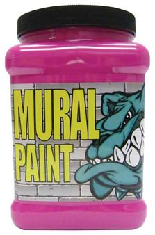 Chroma Mural Paint Half Gallon Pucker Magenta