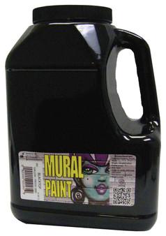 Chroma Mural Paint Gallon Blacktop Black